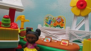 In this video I unbox and demonstrate the Little People Farm Garden & Stand by Fisher Price. With this toy you cam pretend to be a farmer growing carrots, tomatoes, peas, cabbage, apples, corn and sunflowers.Then you can pretend to sell your fruits and vegetables from your farm stand.This set includes 1 LittlePeople character. This play set can be connected to other LittlePeople play sets.MusicTitle: Rainy Day Gamesby: The Green OrbsYouTube Audio LibraryTerms: Free Music