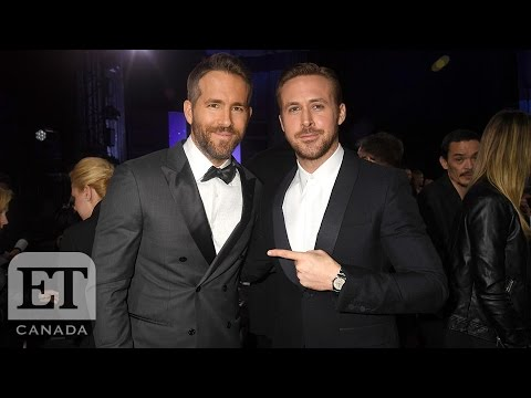 Ryan Vs. Ryan At The Golden Globes (видео)