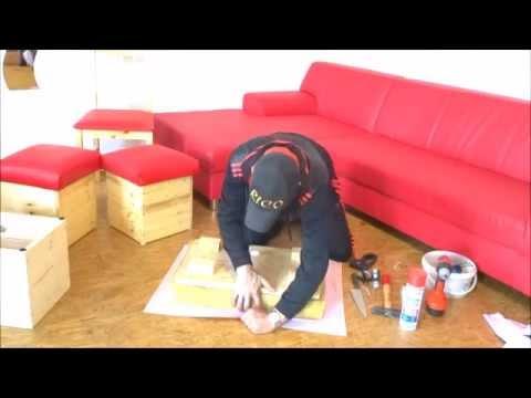 Polstern und mit Leder & Stoff beziehen ausführlich  Lederpflege, Holzpflege, aufsteppen