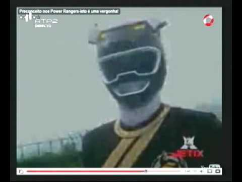 Preconceito nos Power Rangers / Pedro Fernandes