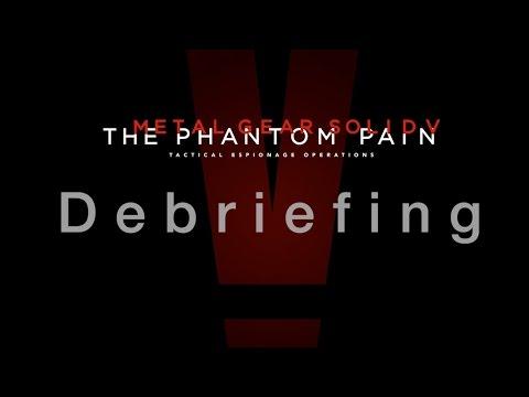 Metal Gear Solid V: The Phantom Pain – Debriefing – HD Video