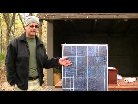 survivalists - Video from a class at a campout in November of 2012. The basics of working with small solar.