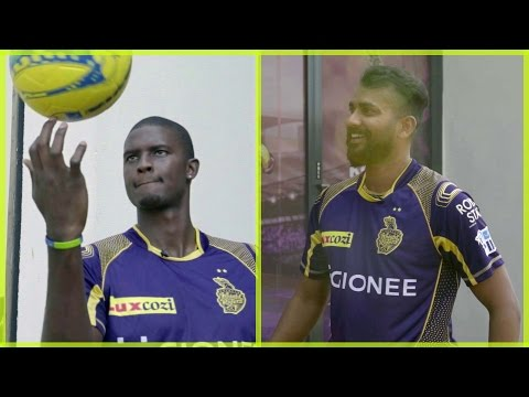 KKR Ka Boss Kaun | Episode 3 | Jason Holder vs Rajagopal Sathish | Foot Tennis