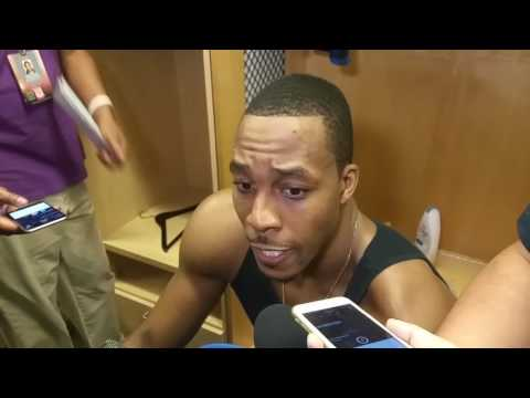 Dwight Howard on his return to Houston