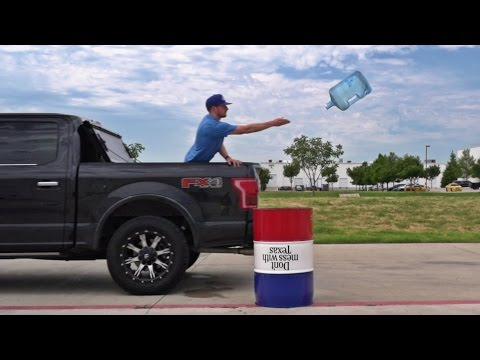 Water Bottle Flipping Trick Shots
