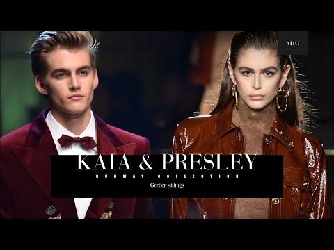 Kaia & Presley | Runway collection | Gerber Siblings видео