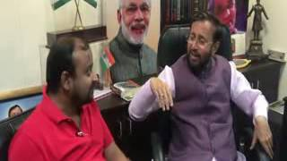 Uday India Interview with Environment Minister Prakash Javedkar