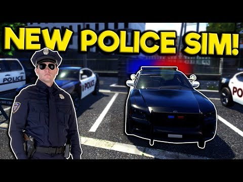 Awesome New Police Simulator 2019! - Police Simulator: Patrol Duty Gameplay