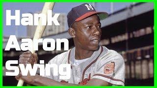 Hank Aaron Swing Analysis