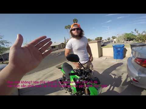 MVlog 50: Bán xe moto Kawasaki Z1000 - 875 cho 2 mẹ con người Mỹ-Full Vietsub - Thời lượng: 18 phút.