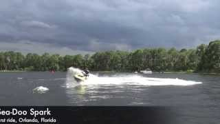 7. 2014 Sea-Doo Spark first ride