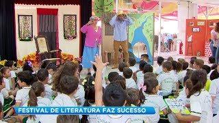 Festival de literatura faz sucesso
