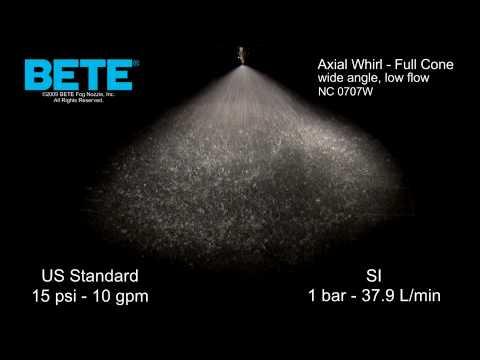 NC 0707W  - 广角,低流量实心锥形推力涡动喷型视频GydF4y2Ba