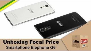 Smartphone da marca chinesa Elephone modelo G6 comprado no site Focal Price e que passou por todos os imprevistos possíveis durante todo o prazo de espera qu...