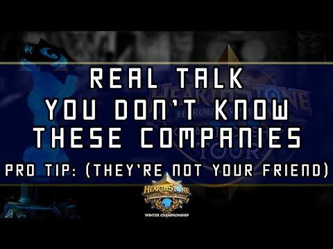 These Companies Don't Love You  ► Blizzard's Blitzchung Blitz