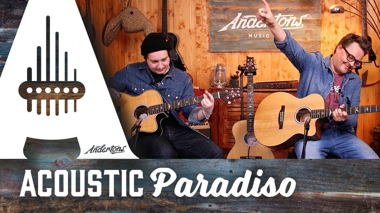 New PRS SE Angelus & Tonares Acoustic Guitars!