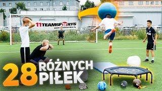 Video Strzały z trampoliny 28 różnymi piłkami! | PNTCMZ MP3, 3GP, MP4, WEBM, AVI, FLV September 2019