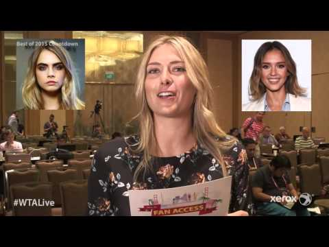 Video Top 10 WTA Live Fan Access presented by Xerox Episodes: No.6 WTA Stars download in MP3, 3GP, MP4, WEBM, AVI, FLV January 2017