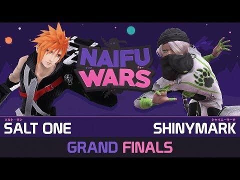 Naifu Wars #19 Grand Finals - Salt One ( Cloud ) vs ShinyMark ( Sheik ) - Smash Wii U (видео)