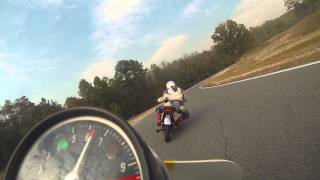 Here's a video of Dave Howard's race in AHRMA Sportsman on a Lightweight Historic Production Honda CB350 at Roebling Road.