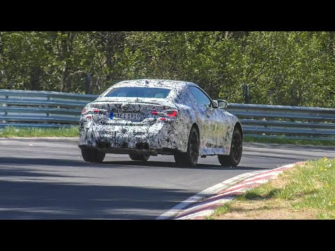 2021 BMW M4 G82 Testing on the Nürburgring! S58 Engine!