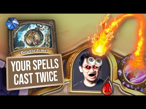 Casting Twice: Double Time is DOUBLE EDGED! | Duels | Hearthstone