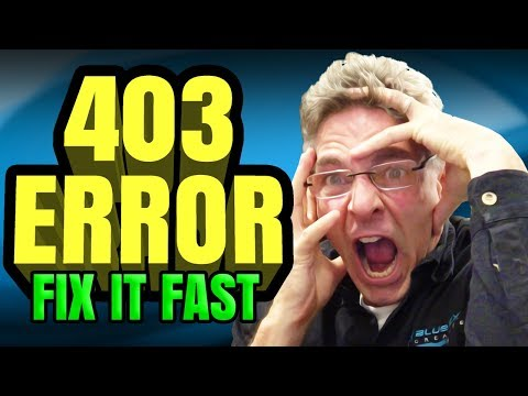 How To Fix 403 Error On My Website