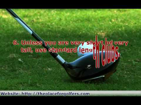 Golf Clubs For Beginners – 7 Things You Need to Know Before Choosing a Golf Club