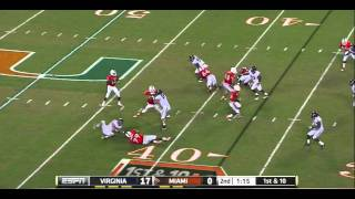 "Cam Johnson vs Miami ""Brandon Washington"" 2011"