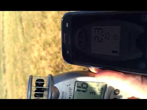 Video of Wind Speed Meter anemometer
