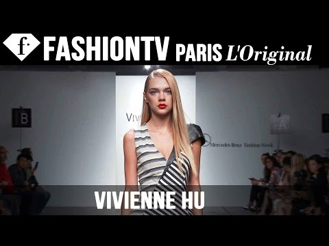fashiontv - http://www.FashionTV.com/videos NEW YORK CITY - See Vivienne Hu's new collection for Spring/Summer 2015 on the runway at Mercedes-Benz New York Fashion Week. For franchising opportunities...