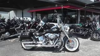 9. 017881 - 2010 Harley Davidson Softail Deluxe FLSTN - Used Motorcycle For Sale