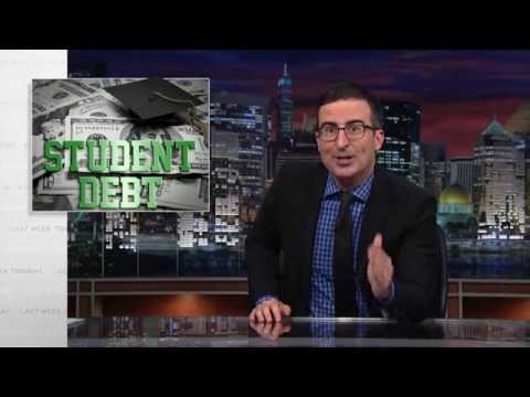 debt - John Oliver discusses student debt, which is awful, as well as for-profit colleges, who are awfully good at inflicting debt upon us. Connect with Last Week T...