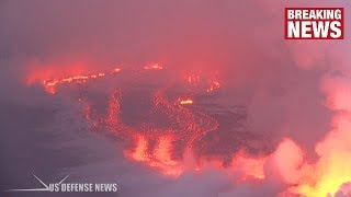 Video Hawaii Volcano: NEW River of Lava Emerges As Fissure Flow Becomes Unpredictable MP3, 3GP, MP4, WEBM, AVI, FLV September 2018