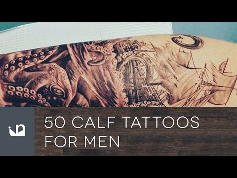 50 Calf Tattoos For Men