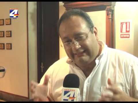 Intendente Caraballo concurrió a la Junta por el fideicomiso