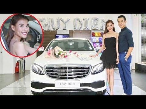 Thúy Diễm được ông xã Lương Thế Thành tặng xe sang tiền tỷ gây choáng