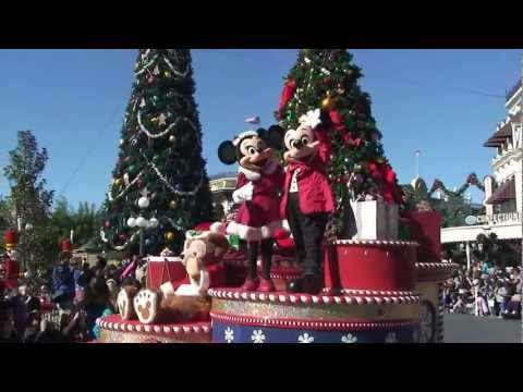 Mickey's Once Upon a Christmastime Parade Daytime Version - Magic Kingdom, Walt Disney World