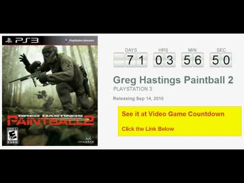 Greg Hastings Paintball 2 Playstation 3