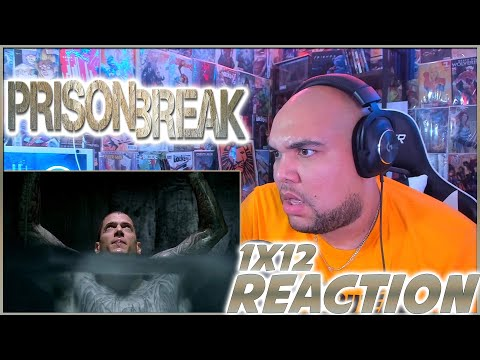 "Prison Break Reaction Season 1 Episode 12 ""Odd Man Out"" 1x12 REACTION!!!"