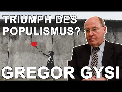 Gregor Gysi – Triumph des Populismus? – DAI Heidelberg