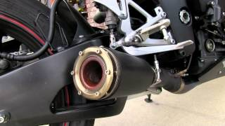 10. 2009 Yamaha YZFR1 Modified Exhaust