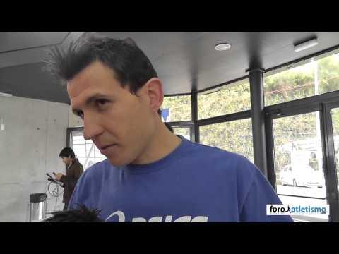 Juan Carlos Higuero campeón de España 3000m