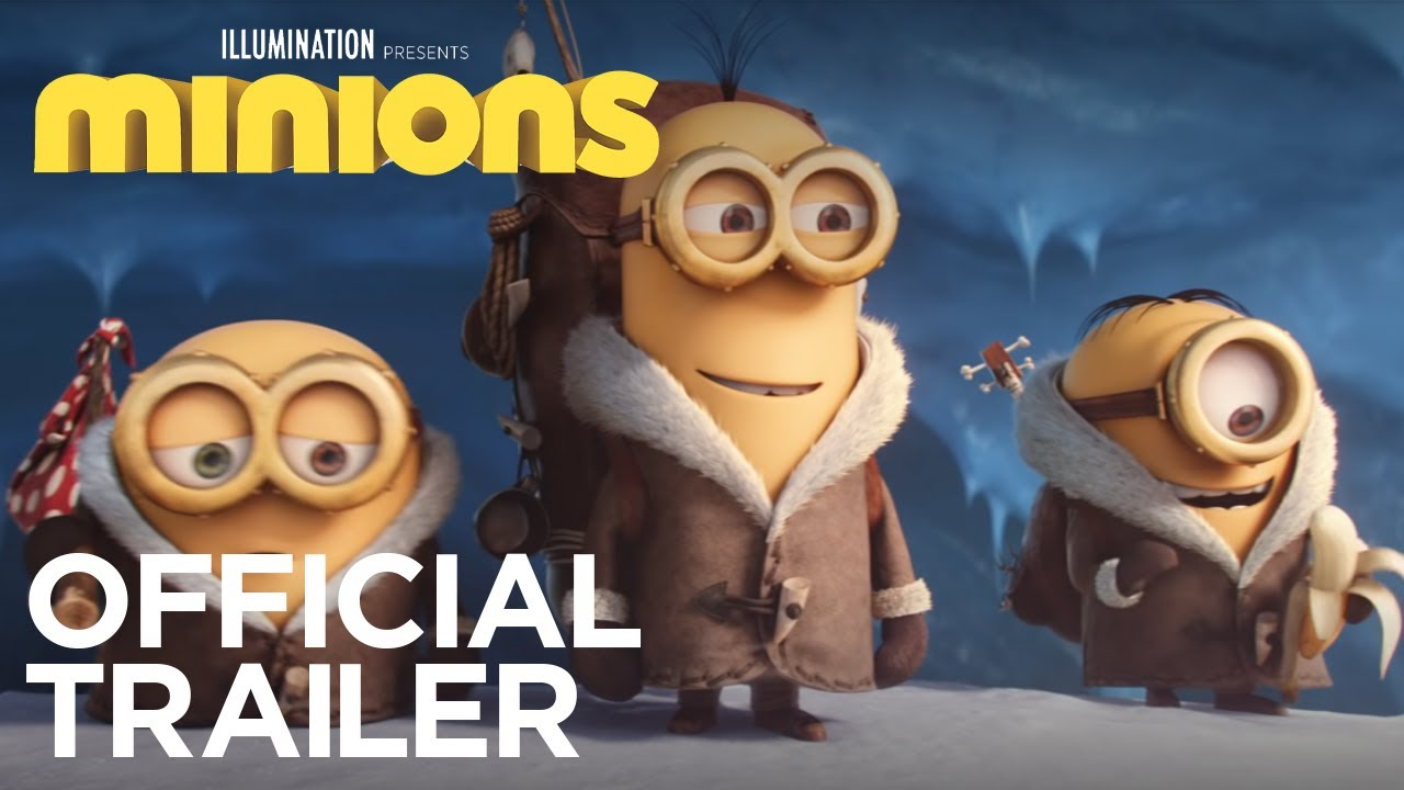 Movie Trailer:  Minions (2015)