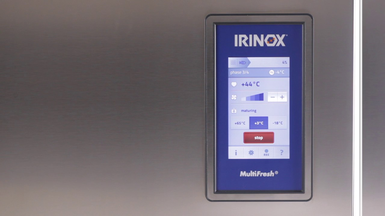 Irinox Multifresh MYA Tutorial - 05 Habilitation de las notificaciones desde la sonda