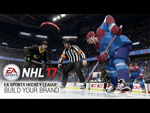 NHL 17 | EA SPORTS Hockey League: Build Your Brand | Xbox One, PS4