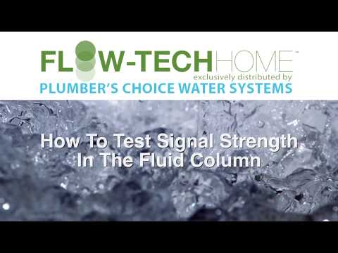 Testing Signal in Water