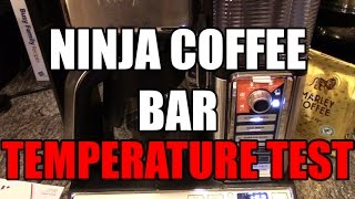We test out the temperature of the Coffee produced by the Ninja Coffee Bar.  Coffee should be served between 155 degrees and 175 degrees.  See if the Ninja stands up to the temp. Get the New Ninja Coffee Bar Here : http://amzn.to/2jXFoKWGet the old Ninja Coffee Bar Here. http://amzn.to/2j9lvMzPLEASE SUBSCRIBE!!!http://www.youtube.com/subscription_center?add_user=im14pinballFind Ninja Cooking system recipes here: http://EasyNinjaRecipes.comGet Cash Back when you shop online!http://www.ebates.com/rf.do?referrerid=IA2rxShzGMuEoUXkh%2FPF7g%3D%3D&eeid=28187