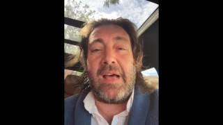 Pepe Marismeño saluda a Jose Luis de la Paz