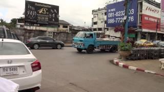 Nongkhai Thailand  City pictures : TukTuk Drive in Nong Khai/ Thailand/ 2015 FullHD